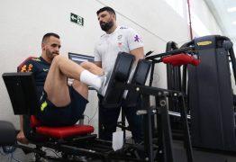 Renato Augusto desfalca o treino da seleção brasileira desta terça-feira