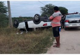 Grave acidente faz vítima fatal na manhã deste domingo no Sertão do Estado
