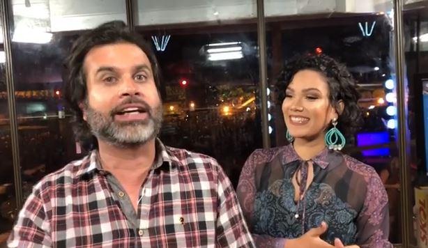 Capturareha - IMPRENSA PROIBIDA NO PARQUE DO POVO: Coordenador de Turismo, Celino Neto, decreta que só a TV Maior pode transmitir ao vivo