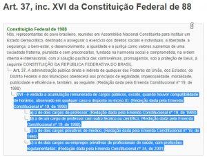 Constituição 300x227 - Farra: Tribunal de Contas detecta 2.026 servidores acumulando cargos ilegalmente na Paraíba