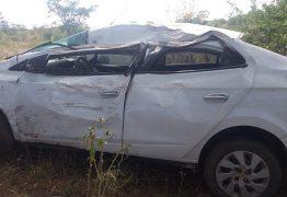 Ex-candidata a prefeita de Santa Helena sofre acidente na manhã dessa segunda