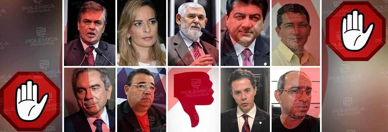 senadores - RESULTADO DA ENQUETE/REJEIÇÃO: Cássio é o mais rejeitado entre os pré-candidatos ao Senado
