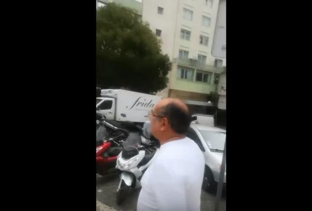 Capturar 26 - Em Lisboa, Gilmar Mendes é hostilizado ao caminhar na rua - VEJA VÍDEO!