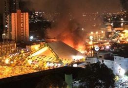Laudo aponta que incêndio no Parque do Povo foi acidental