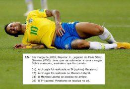 Neymar cai até no vestibular e revolta alunos