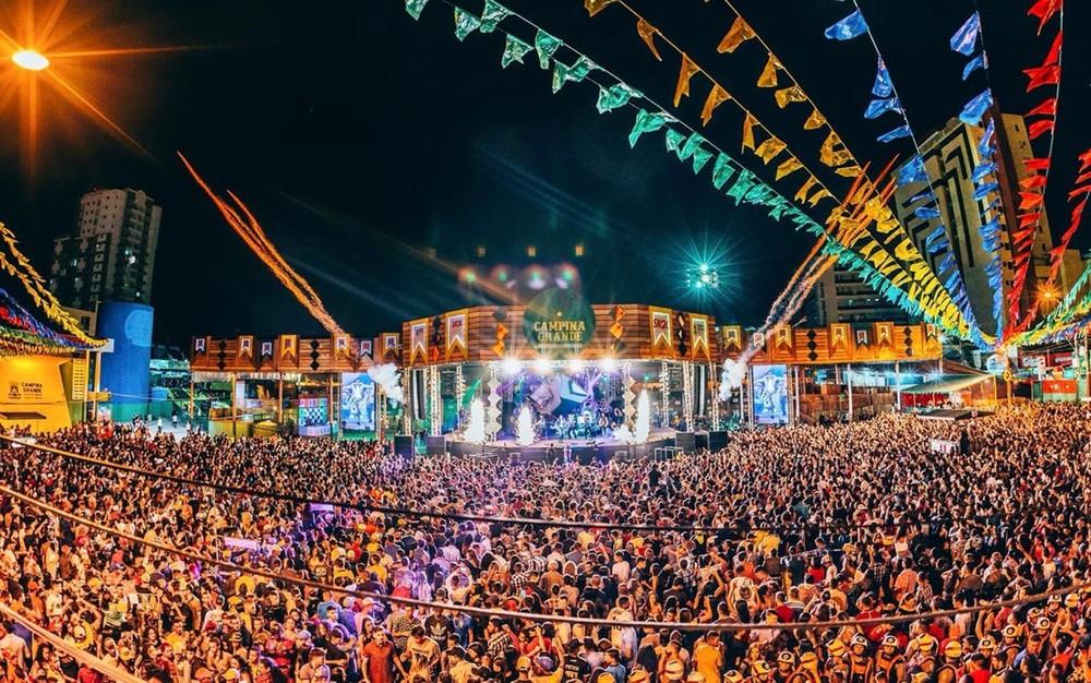 publico no parque do povo - São João de Campina Grande entra na última semana de festa; VEJA A PROGRAMAÇÃO