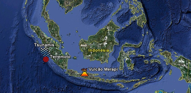 248352 - Após tremor de magnitude 7, Indonésia emite alerta de tsunami