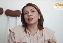 VEJA VÍDEO: Cida Ramos responde à injúria e preconceito de radialista que a chamou de 'aleijada'