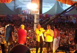 VEJA VÍDEO: Em evento com 12 mil pessoas, RC ressalta projeto construído pelo PSB para a Paraíba