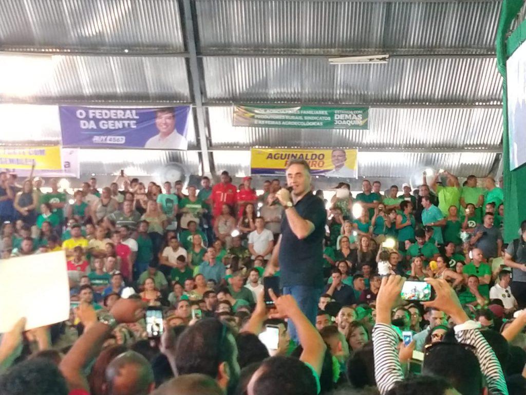 WhatsApp Image 2018 08 05 at 12.41.39 1024x768 - VEJA VÍDEOS: Convenção do PV oficializa chapa de Lucélio e Micheline, Cássio e Daniella