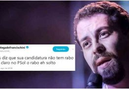 Boulos é alvo de comentário homofóbico de coordenador de Bolsonaro