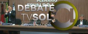 debate sol 300x117 - DEBATE NA TV SOL: saiba tudo que aconteceu no embate entre os candidatos ao governo