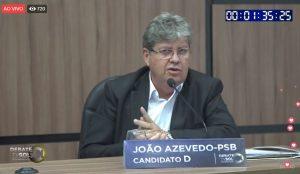 joão despedida 300x174 - DEBATE NA TV SOL: saiba tudo que aconteceu no embate entre os candidatos ao governo