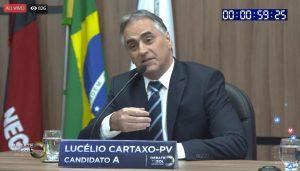 lucélio tv sol 300x171 - DEBATE NA TV SOL: saiba tudo que aconteceu no embate entre os candidatos ao governo