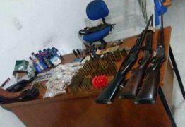 Suspeitos de ataques a bancos são presos com explosivos em Itaporanga, PB