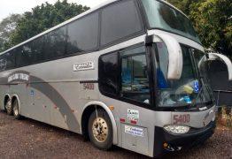 Ônibus que levava fiéis a convenção religiosa é apreendido com meia tonelada de droga