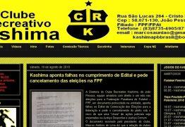 LENHA NA FOGUEIRA: Clube aponta irregularidades em edital e pede suspensão de eleições na FPF