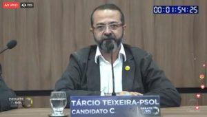 tárcio despedida 300x170 - DEBATE NA TV SOL: saiba tudo que aconteceu no embate entre os candidatos ao governo