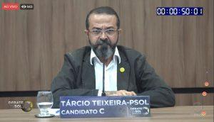 tarcio tv sol 300x172 - DEBATE NA TV SOL: saiba tudo que aconteceu no embate entre os candidatos ao governo