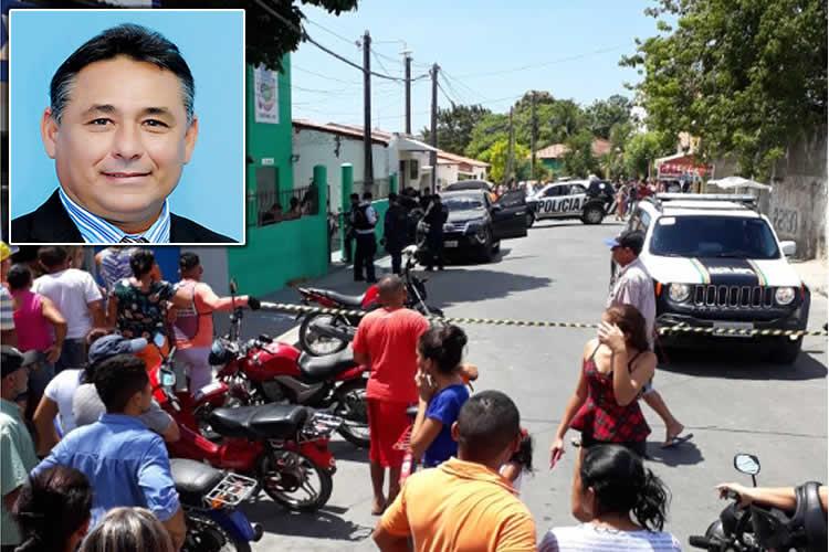 20180831185330 5181 capa - CENAS FORTE: Presidente da Câmara de Vereadores é assassinado a tiros - VEJA VÍDEO DO CRIME
