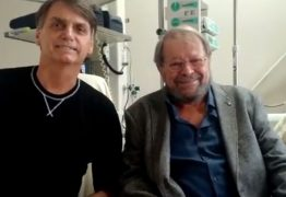 VEJA VÍDEO: Ator Carlos Vereza visita Bolsonaro no hospital