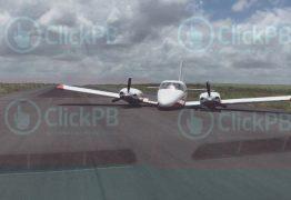 ATERRISSAGEM DE EMERGÊNCIA: avião que transporta Lucélio, Daniella, Cássio e Pedro sofre pane em Santa Rita