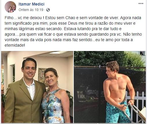 BRASILEIRO - Pai faz despedida emocionada para brasileiro morto por ataque de tubarão nos EUA