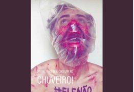 Filho de Bolsonaro publica foto que simula tortura de apoiador do movimento #EleNão