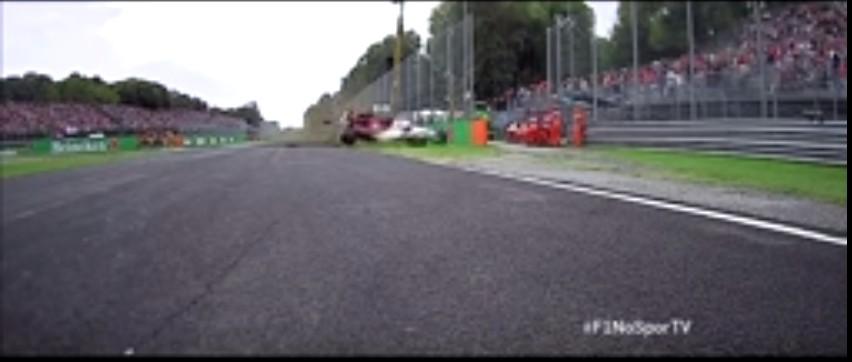 Capturar - IMAGENS FORTES: piloto sofre grave acidente em treino do GP de F-1 - VEJA O VÍDEO