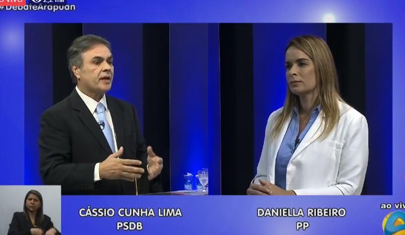 Untitledf - A TV Arapuan realiza o primeiro debate com os candidatos paraibanos ao Senado Federal