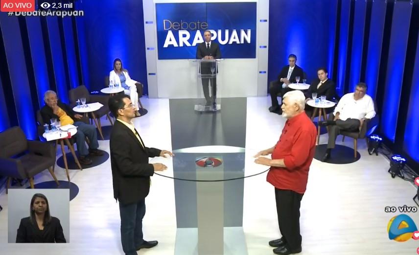 Untitledh - A TV Arapuan realiza o primeiro debate com os candidatos paraibanos ao Senado Federal