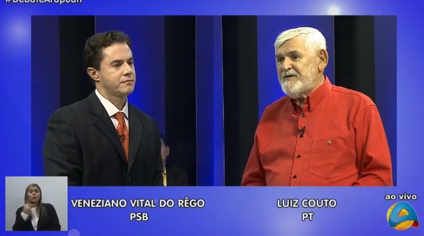 Untitledp - A TV Arapuan realiza o primeiro debate com os candidatos paraibanos ao Senado Federal