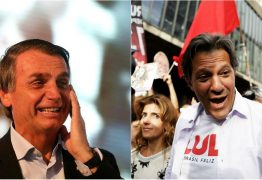 PARANÁ PESQUISAS: Bolsonaro tem 31% e Haddad chega a 20% rumo ao segundo turno