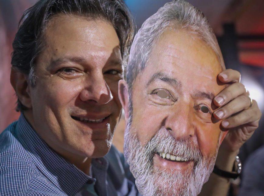 lulahaddad 868x644 - PT tira do ar site para doações à campanha presidencial