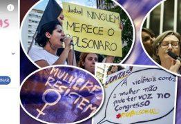 SÁBADO HISTÓRICO: mulheres saem às ruas do Brasil e do mundo contra Bolsonaro