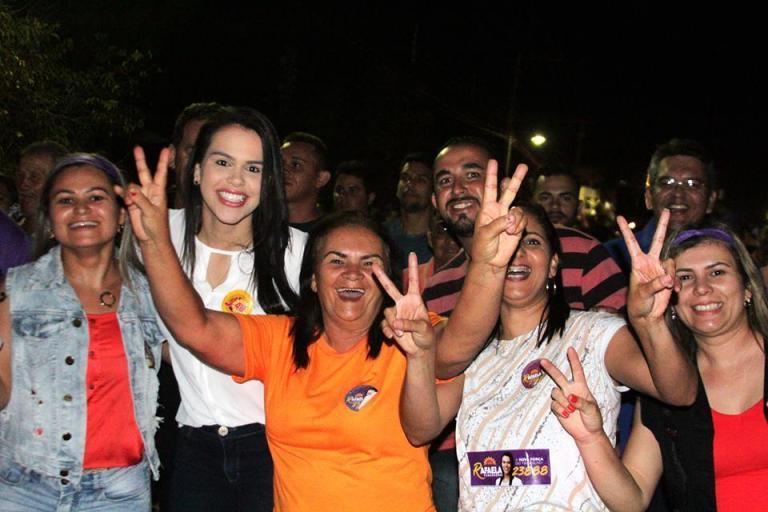 rafaela 1 - Evento político em Cuité reune diversos apoiadores de Rafaela Camaranse
