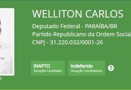 Wellinton Carlos coloca culpa no 'PROS' por indeferimento de registro de candidatura; partido nega perseguição