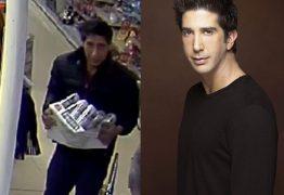 """Polícia procura assaltante parecido com Ross de """"Friends"""" e post viraliza"""