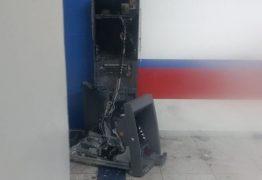 VEJA VÍDEO: quadrilha explode ponto de atendimento bancário de Pirpirituba