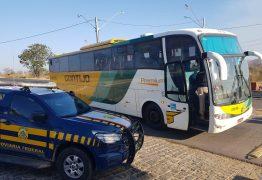 PRF apreende mais de 2 kg de cocaína em ônibus, no interior da Paraíba