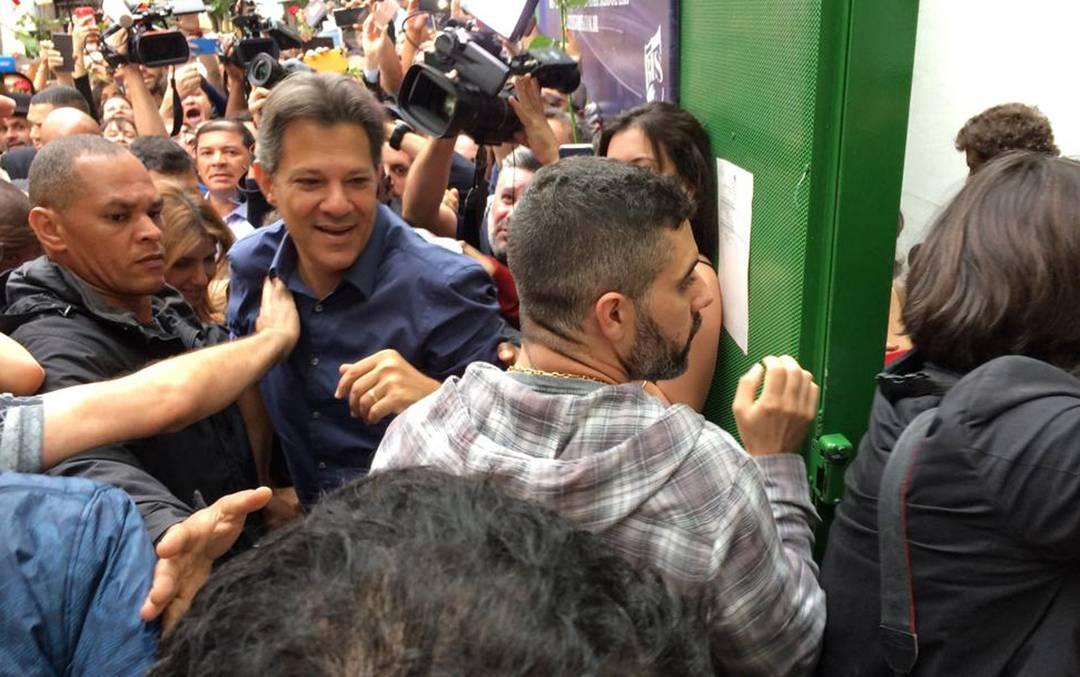 haddad 11 - Saiba o que aconteceu 'minuto a minuto' no 2º turno das eleições 2018