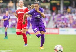 Torcedores elegem Marta a jogadora mais valiosa do Orlando Pride