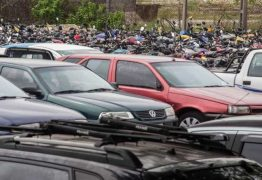 Detran leiloa quase 400 veículos, em João Pessoa, nesta terça-feira