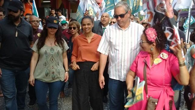 whatsapp image 2018 10 01 at 16.31.54 - EM JOÃO PESSOA: Marina Silva critica PT e Bolsonaro e afirma que 'casa dividida não tem como subsistir'