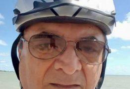 Ciclista, ex-secretário Everaldo Sarmento é atropelado e está na UTI