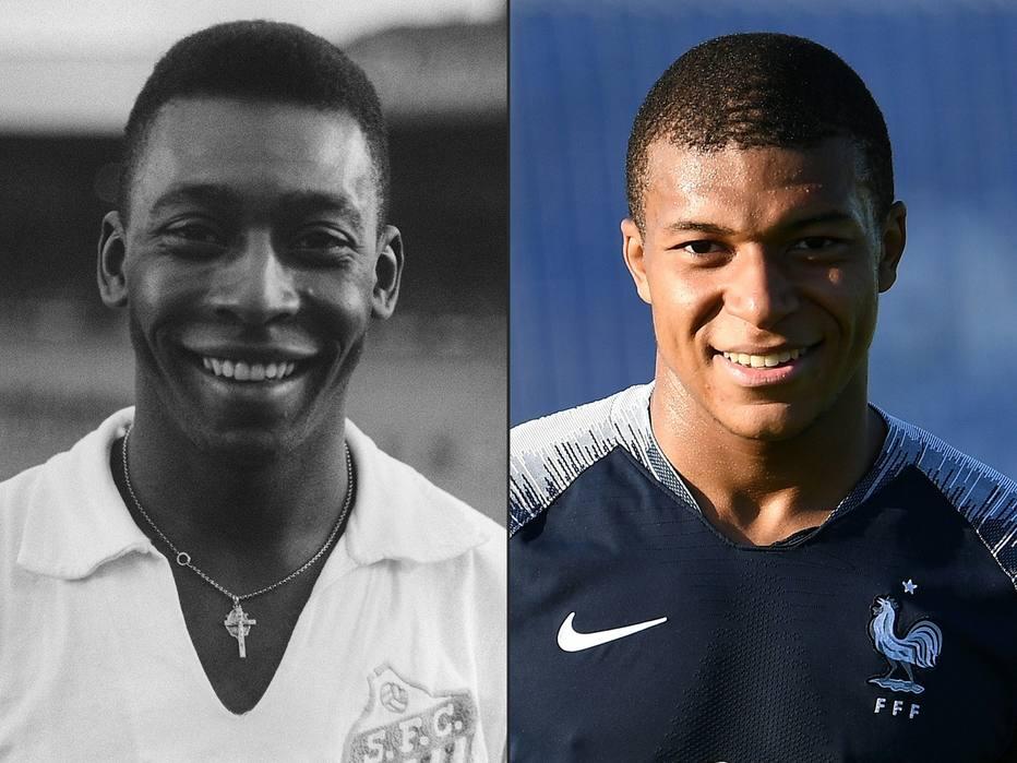 1530625041856 - Encontro inédito entre Pelé e Mbappé é cancelado