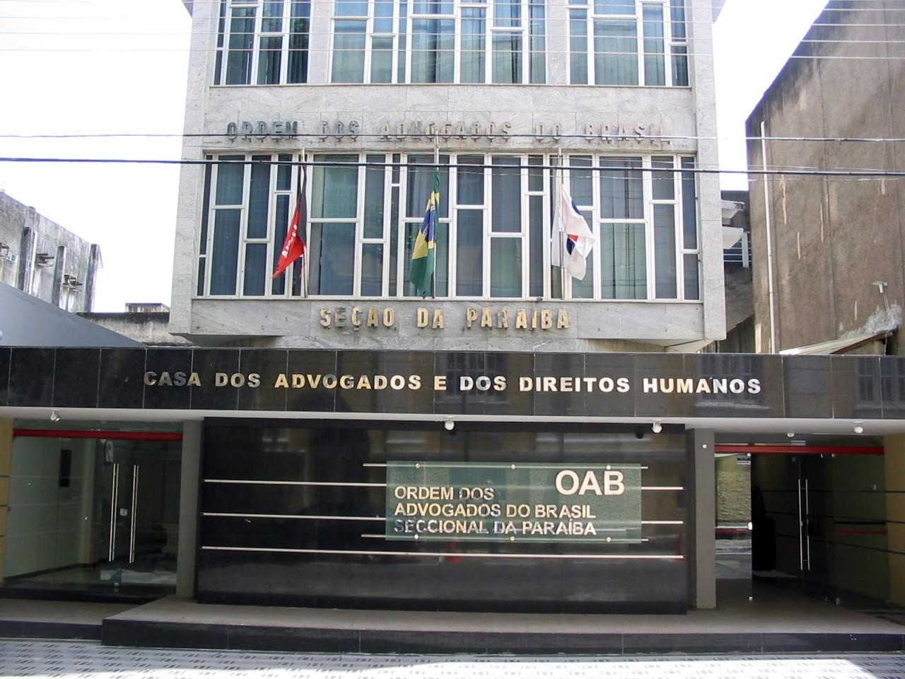 2725 oab pb jpg - PROVA DA OAB: 3.617 pessoas fazem exame de ordem na Paraíba