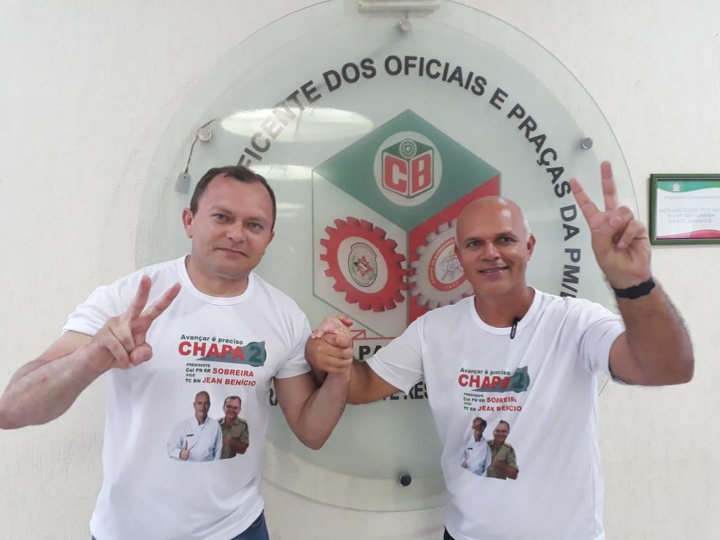 WhatsApp Image 2018 11 30 at 6.44.48 PM 1 - Coronel Sobreira e TC Jean Benício são reeleitos na Caixa Beneficente com uma diferença de mais de 200 votos