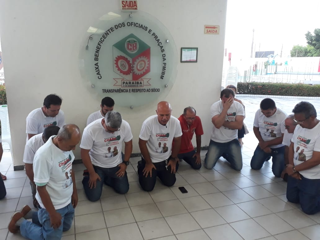 WhatsApp Image 2018 11 30 at 6.44.48 PM 2 - Coronel Sobreira e TC Jean Benício são reeleitos na Caixa Beneficente com uma diferença de mais de 200 votos
