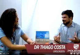 'Na Paraíba 300 homens morreram esse ano com câncer de próstata': Avalia Urologista em entrevista exclusiva: VEJA VÍDEO